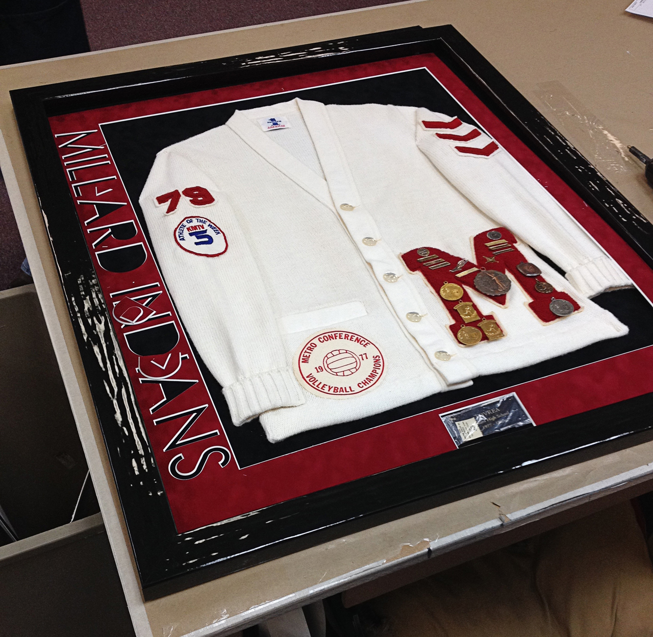 Grizzly Creek Framing Co 187 Sports Jersey Framing Shadow